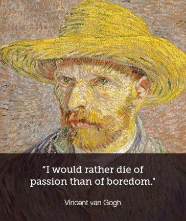 Passion vs Boredom